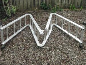 collapsed ladder