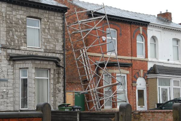 How Not To Use A Scaffold Tower Bps Access Solutions Blog
