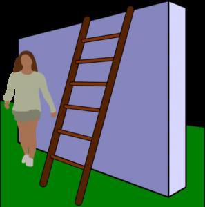 walking under a ladder