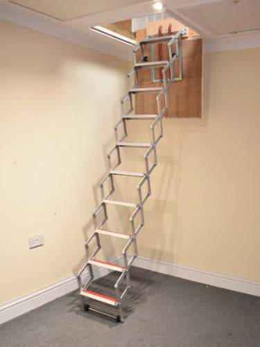 Concertina Loft Ladder Loft Ladders Bps Access Solutions