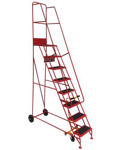 Narrow Industrial Mobile Step