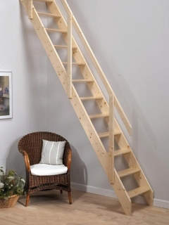 Deluxe Space Saving Staircase