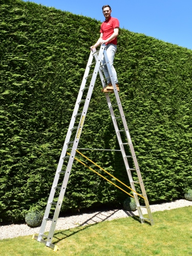 2 Section Combination Ladder Ladders Bps Access Solutions