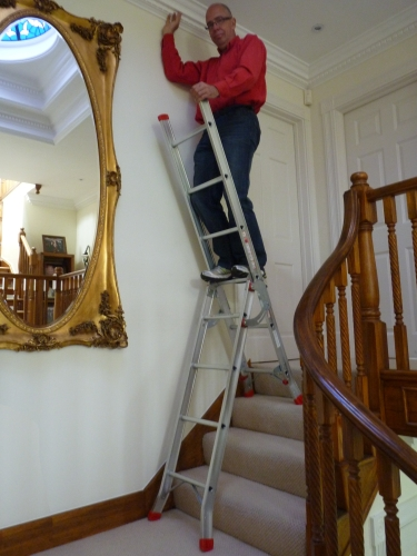 Ladder On Stairs 3 Way Combination Ladder Ladders Bps Access Solutions