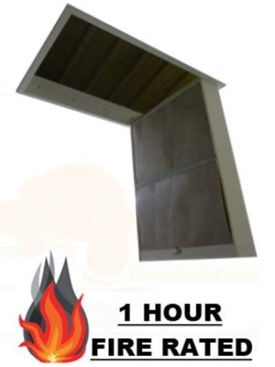 Loft hatch doors loft ladders bps access solutions for 1 hour fire rated door price