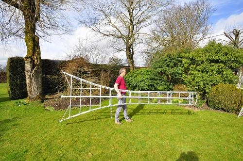 Henchman Platform 1 Leg Adjustable Tripod Ladders Steps
