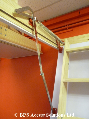Grand Wooden Loft Ladder Loft Ladders Bps Access Solutions