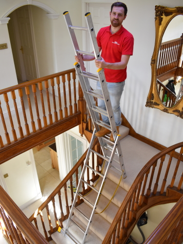 ... Combi Ladder Featuring Large Rubber Feet For Great Stability And Grip  ...