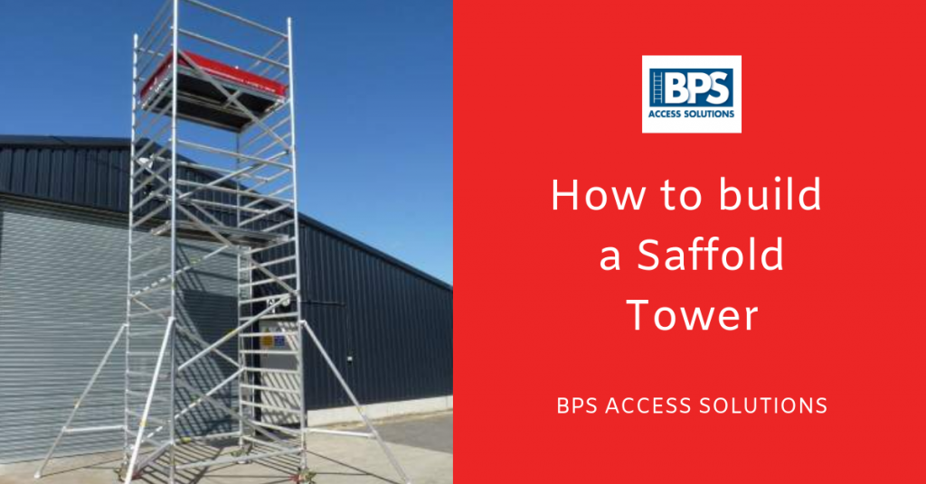 How to build scaffold towers and DIY scaffold towers