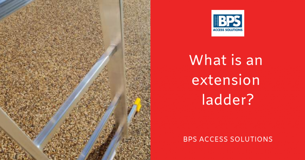 What is an extension ladder