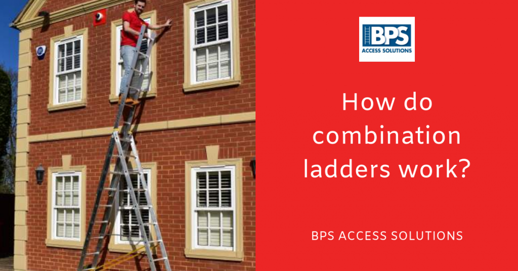 How do combination ladders work