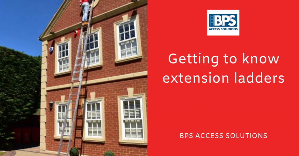 Getting to know extension ladders