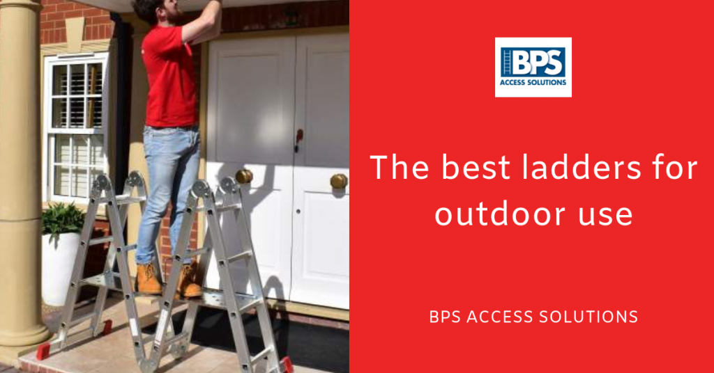 The best ladders for outdoor use