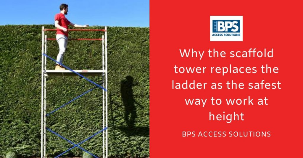Why the scaffold tower is the safety way to work at height