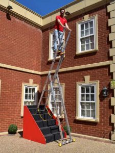 3-Section Stair Extension Ladder