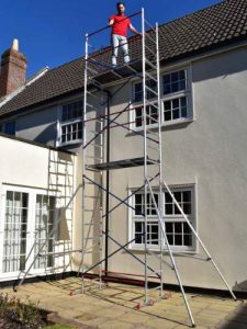 Home Master DIY Scaffold Tower