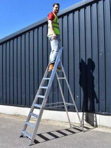 Industrial Platform Step Ladder